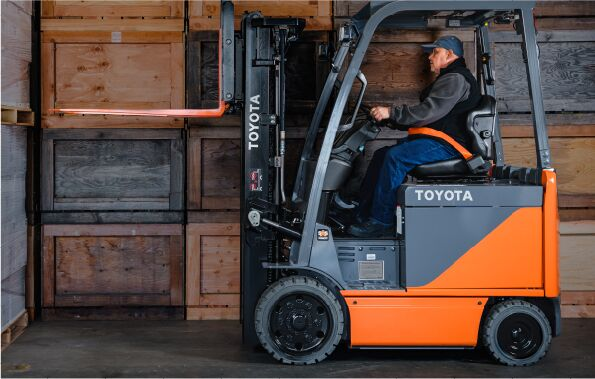 Toyota Electric Four Wheel Forklift