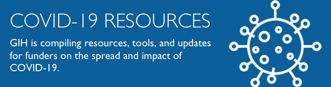 COVID-19 Resources for Funders