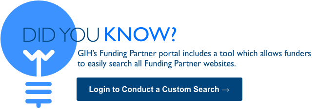Search All Funding Partner Organization