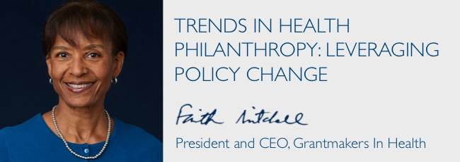 Trends in Health Philanthropy: Leveraging Policy Change