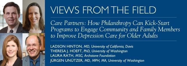 Care Partners: How Philanthropy Can Kick-Start Programs