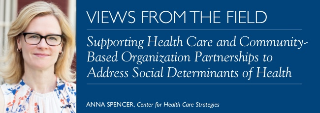 VFF: Supporting Health Care and Community-Based Organization Partnerships to Address Social Determinants of Health
