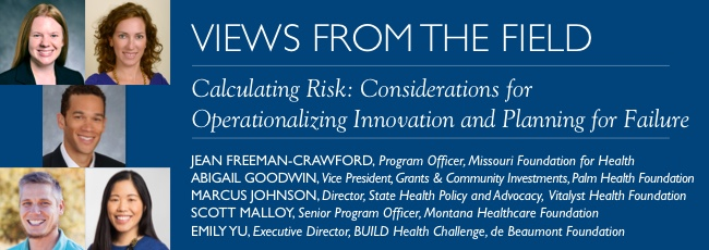 VFF: Calculating Risk: Considerations for Operationalizing Innovation and Planning for Failure