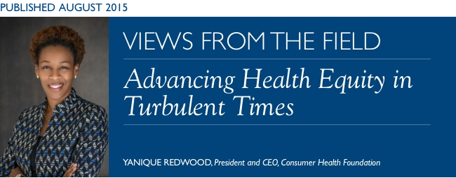 Advancing Health Equity in Turbulent Times