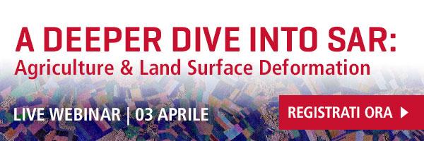 A Deeper Dive into SAR Live Webinar   Wednesday April 3   Register Now