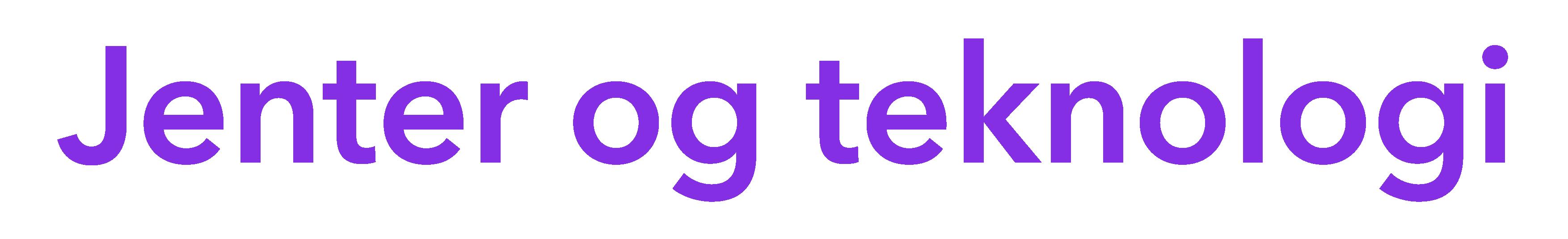Jenter og teknologi logo