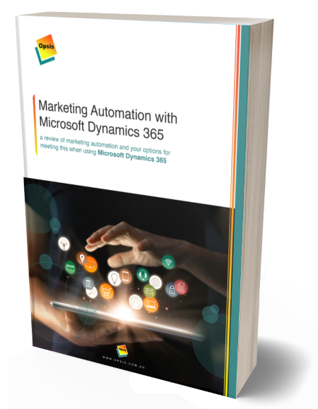Marketing Automation with  Microsoft Dynamics 365