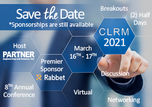 CLRM 2021 - Save the Date