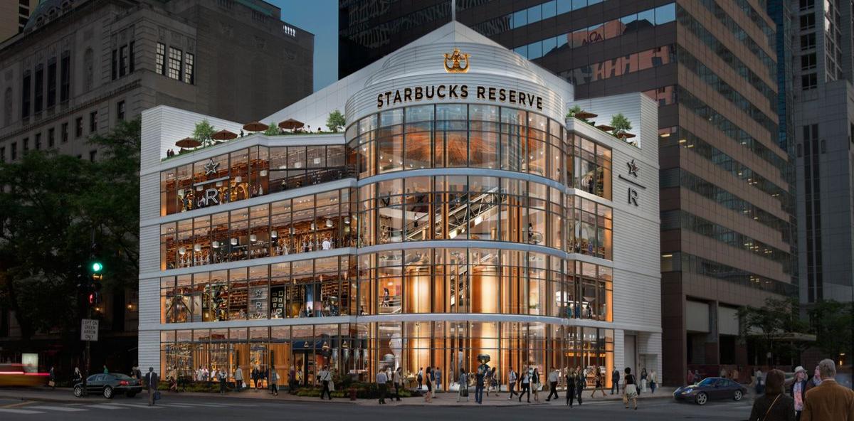 Flagship Starbucks Reserve