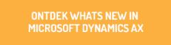 Ontdek what's new in Microsoft Dynamics AX