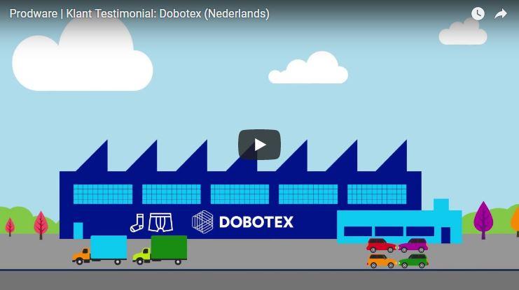 Prodware | Klant Testimonial: Dobotex (Nederlands)