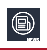 "Icon of a newspaper with text ""news"""